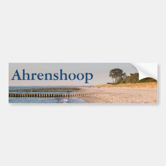 Playa de Ahrenshoop Pegatina Para Coche