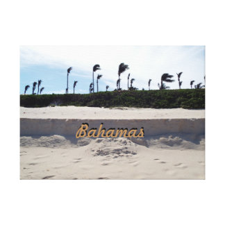 Playa de Bahamas Lienzo