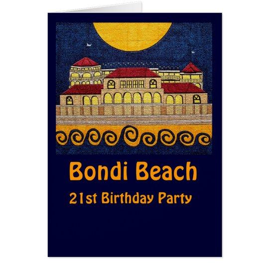 Playa de Bondi, 21ra tarjeta de la fiesta de
