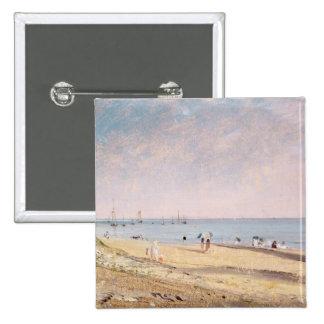 Playa de Brighton (aceite en lona) Pins