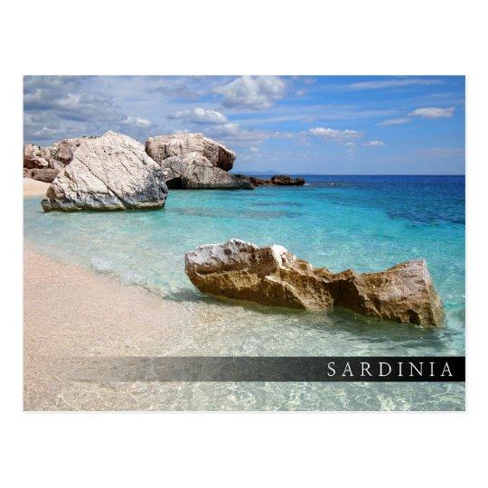 Playa de Cala Mariolu, postal de la barra de
