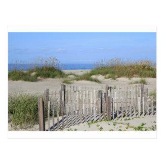 Playa de Caswell, tierra del NC y paisaje marino Postal