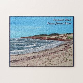 Playa de Cavendish, rompecabezas de PEI