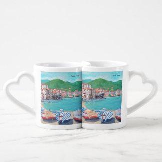 Playa de Cefalù - sistema de la taza de Coffe