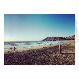 Playa de estado de Pacifica Tarjeta De Felicitación