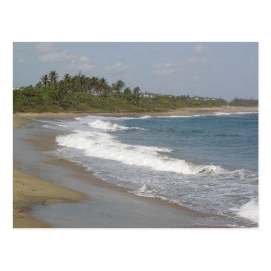 Playa de Hatillo Postal