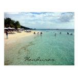 playa de Honduras Postal