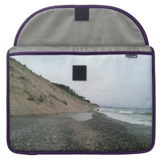 Playa de la ágata funda para macbook pro