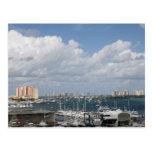 Playa de la bahía del océano de la Florida FL del  Tarjetas Postales