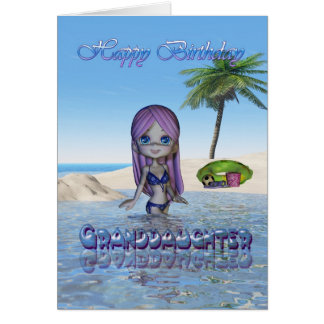 Playa de la colección de la empanada de Cutie de Tarjeta De Felicitación