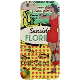 Playa de la Florida que baña el bañador retro de Funda Barely There iPhone 6 Plus