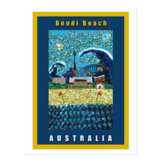 Playa de la postal el Luna Bondi el Bondi