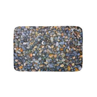 Playa de la roca alfombrilla de baño