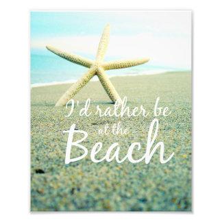 Playa de las estrellas de mar que dice la foto