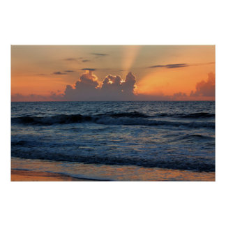 Playa de los E.E.U.U., Georgia, isla de Tybee, Póster
