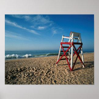 Playa de los E.E.U.U., Rhode Island, Charleston, Póster