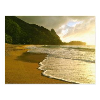 Playa de los túneles, postal de Kauai
