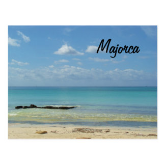 Playa de Majorca - postal