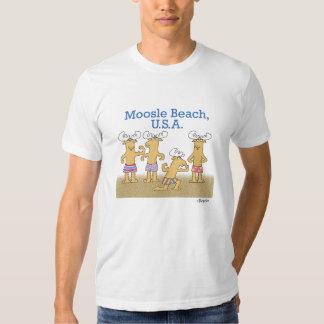 Playa de Moosle, los E.E.U.U. Camiseta