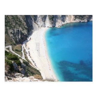 Playa de Myrtos, Kefalonia Postal