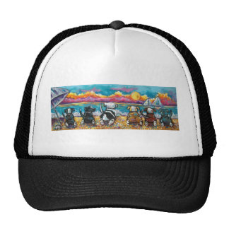 Playa de Pitbull Gorros Bordados