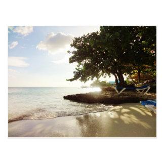 Playa de Punta Canta de la República Dominicana Postal