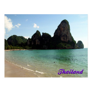 Playa de Railay, Krabi, postal de Tailandia
