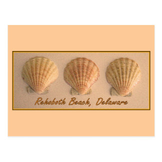 Playa de Rehoboth, postal de Delaware