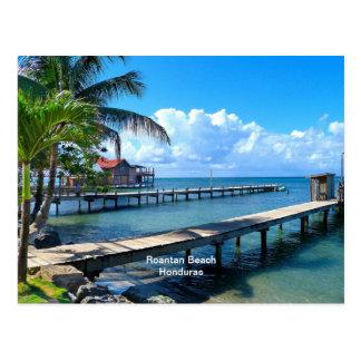 Playa de Roantan, Honduras Postal