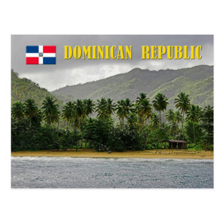 Playa de Samana, República Dominicana Postal
