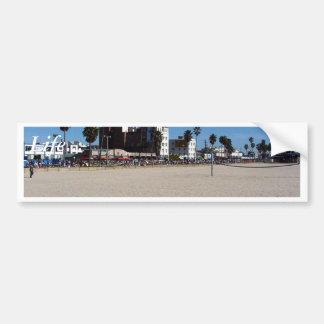 Playa de Venecia Pegatina Para Coche