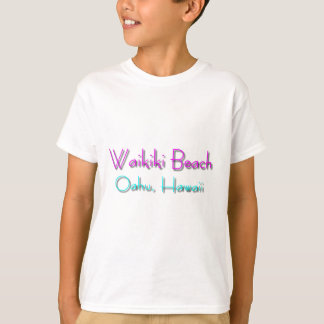 Playa de Waikiki Camiseta