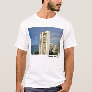 Playa de Waikiki, Hawaii Camiseta