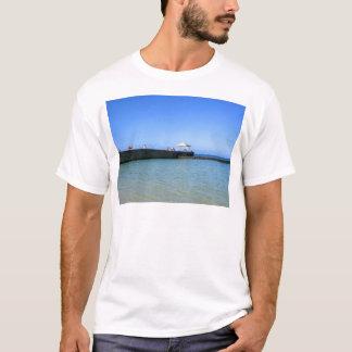 Playa de Waikiki, Honolulu, Oahu, Hawaii, los Camiseta