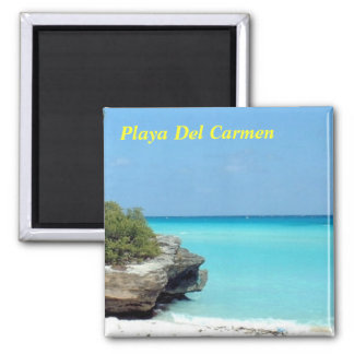 Playa del Carmen Imán Cuadrado