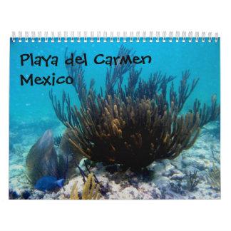 Playa del Carmen, México Calendario