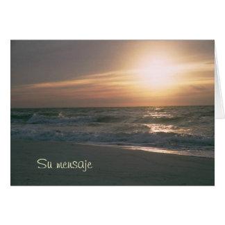 Playa del en Pensacola de La Salida del Sol Tarjeton