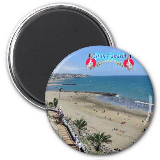 Playa del Ingles Imanes De Nevera