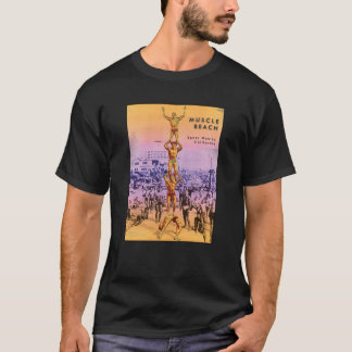 Playa del músculo camiseta