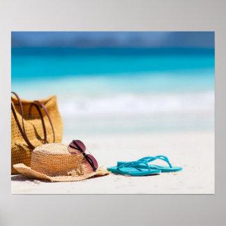 Playa del océano póster