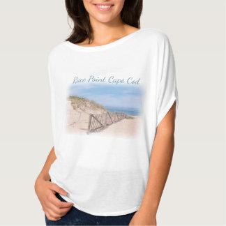 Playa del punto de la raza en Cape Cod Camiseta