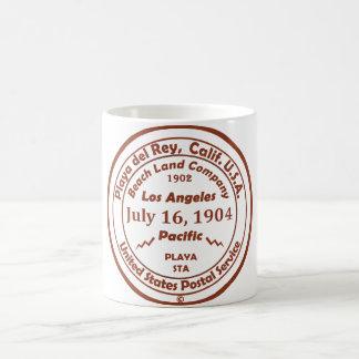 Playa del Rey nace - 16 de julio de 1904 Tazas De Café