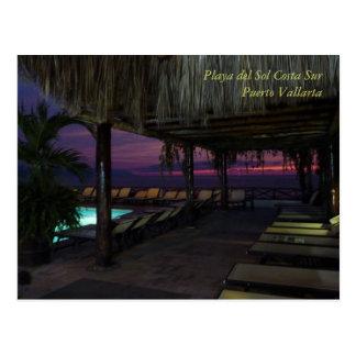 Playa del Sol Costa Sur Tarjeta Postal