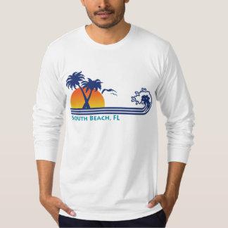 Playa del sur camiseta