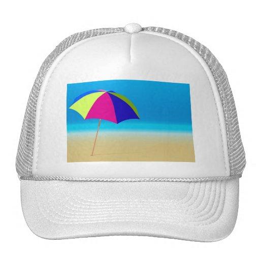 Playa del verano gorros