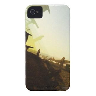 Playa del vintage carcasa para iPhone 4 de Case-Mate