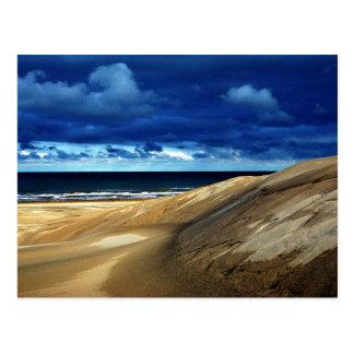 Playa después de la tormenta postal