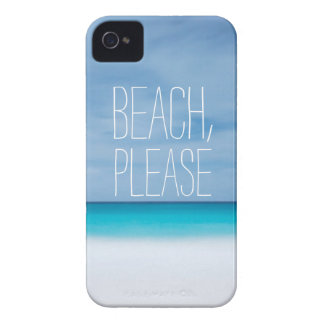 Playa divertida, por favor inconformista tropical carcasa para iPhone 4