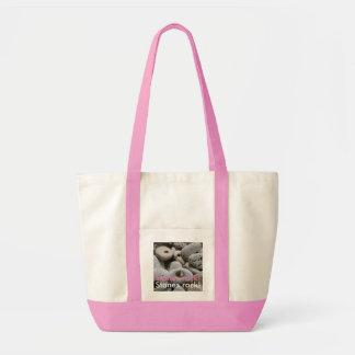 Playa elegante femenina del diseño de la roca de bolso de tela