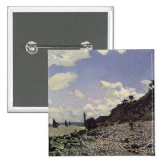 Playa en Honfleur, 1864 (aceite en lona) Pin